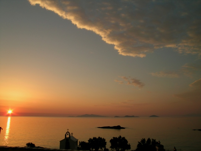 sunrise at Agios Dimitris