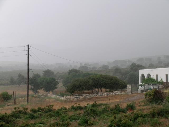 Cumulonimbus, Gewitterschauer