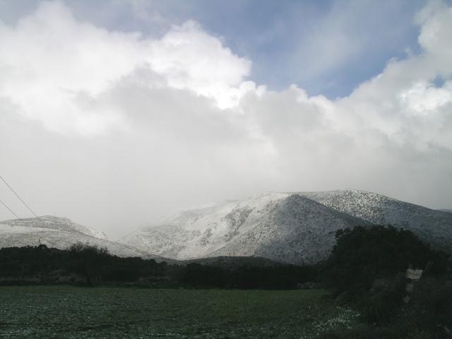 Berge mit Schnee-2
