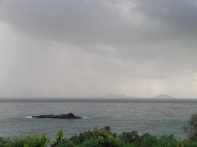 Cumulonimbus, Regen