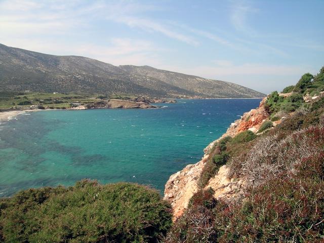 Blick vom Kap Stavros