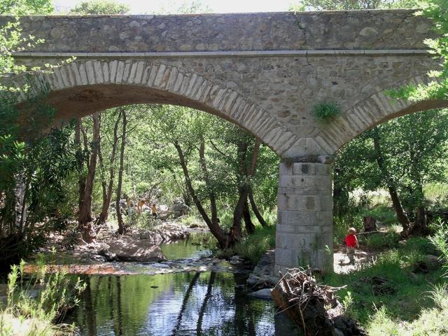 Die Brücke bei Kinidaros