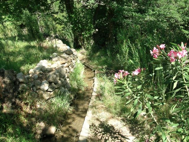 Wasserleitung bei Kinidaros