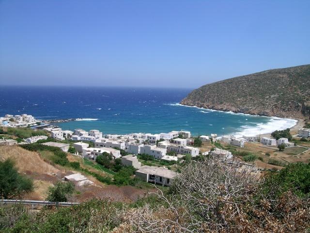 beim Kouros von Apollonas