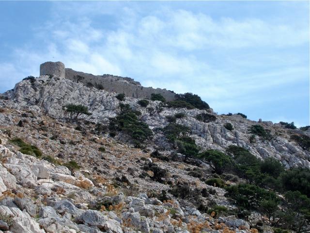 Die byzantinische Festung von Apalirou