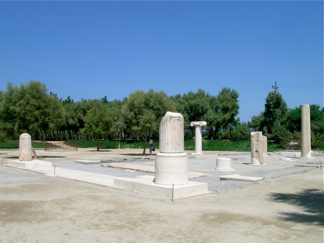 Der Dionysos-Tempel in Iria