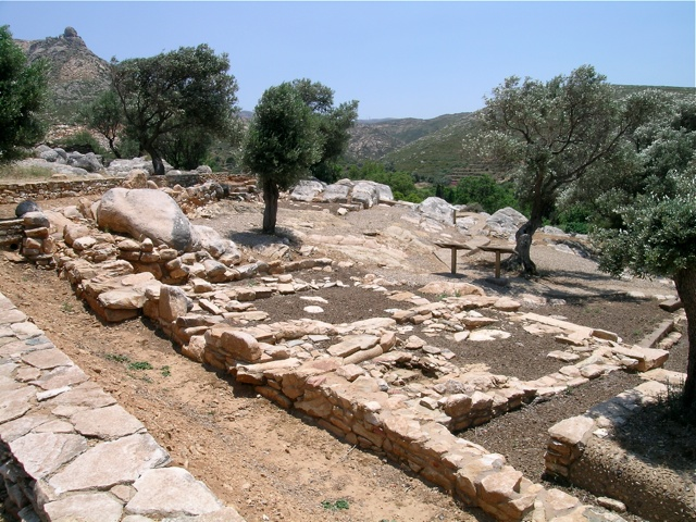 das antike Heiligtum bei Flerio