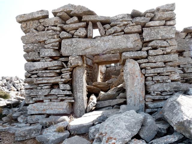Die Kirche Panagia Chrysopigi bei Apiranthos