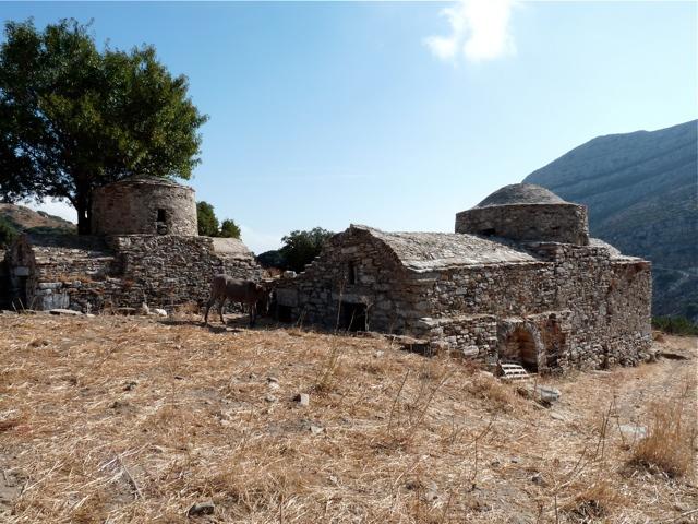 Die byzantinischen Kirchen Agios Georgios und Agios Pachomios bei Apiranthos