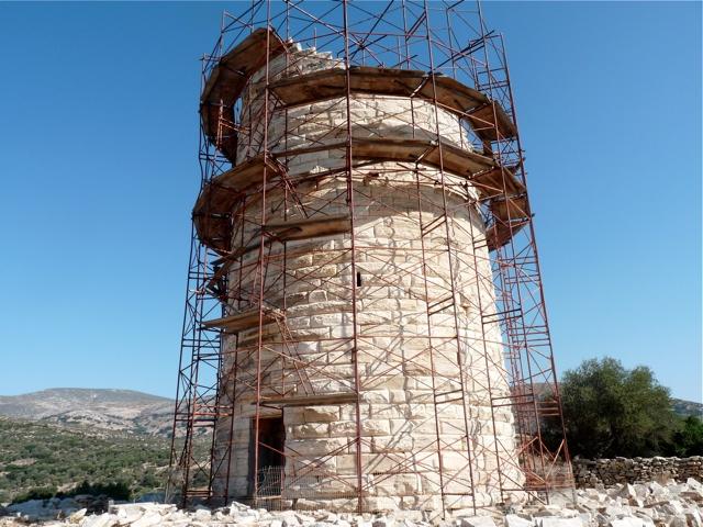 der Turm von Chimarrou
