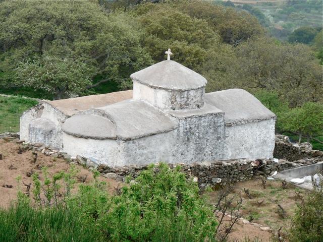 Die Kirche Agios Joannis und Agios Georgios bei Sifones
