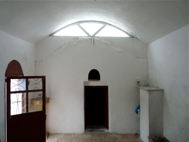 Die Kapelle des Agio Pachomio bei Tsikalario