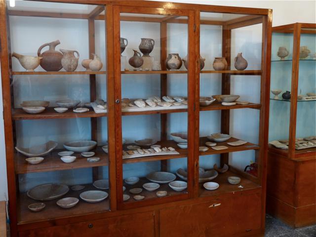 das archäologische Museum in Apiranthos